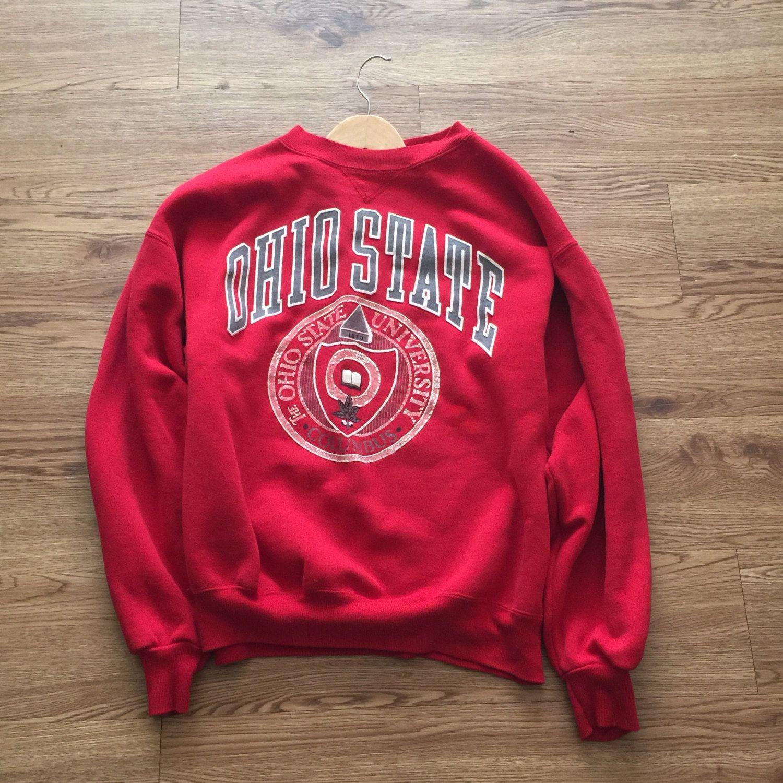 Vintage 80 S Ohio State Crewneck Sweatshirt Vintage Sweaters And