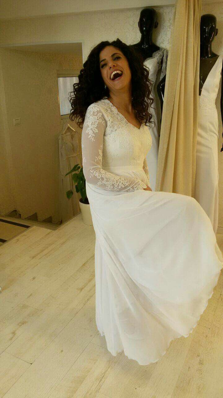 Feeling High With A Studio Levana Wedding Gown