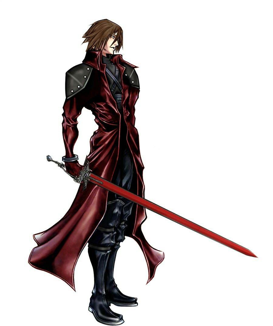 Genesis Rhapsodos Ffvii Crisis Core Pinterest Final Fantasy