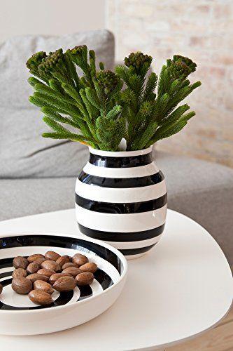 Black And White Striped Vase Love The Edit Black White For The