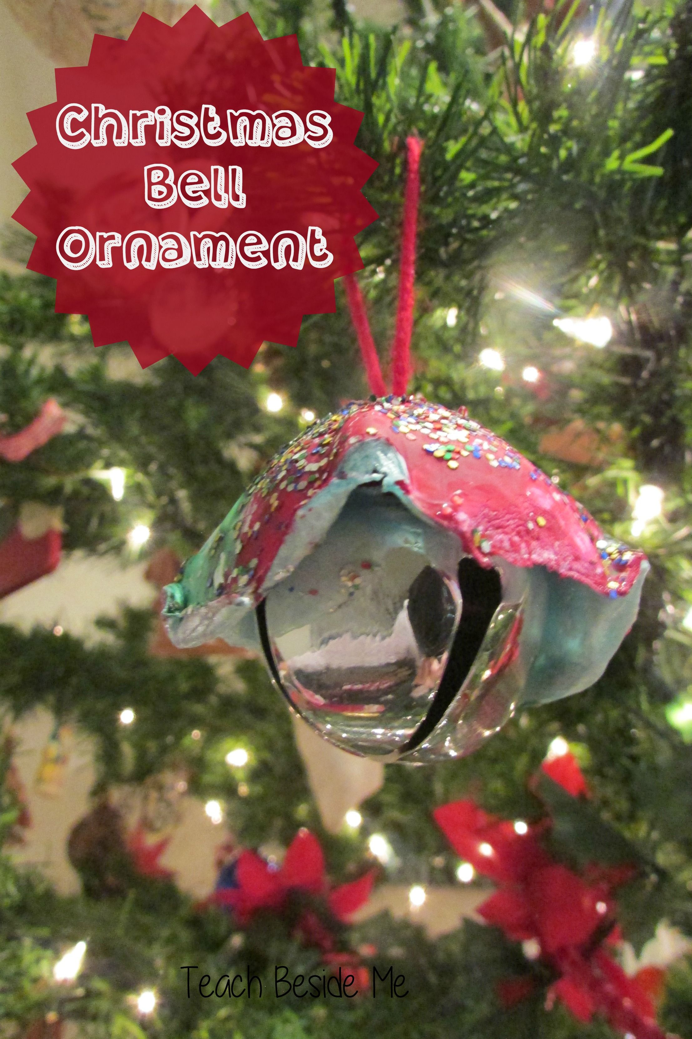 Christmas bell ornaments crafts it is and beautiful