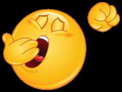 yawning emoticon sticker