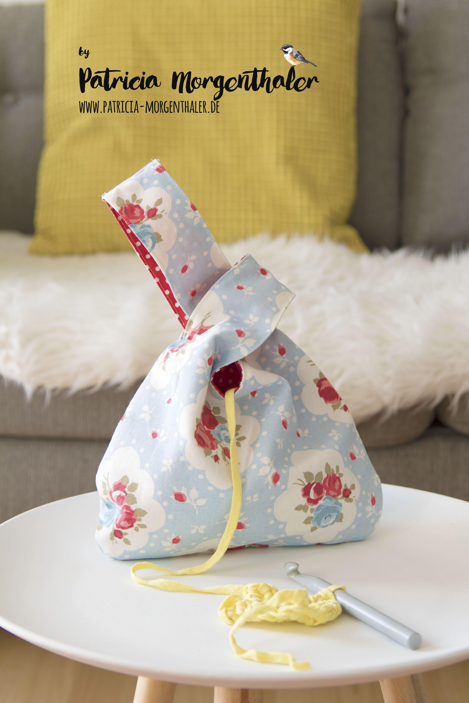 Genahte Knotentasche Tasche Nahen Kinder Japanische Knotentasche Und Diy Tasche Nahen