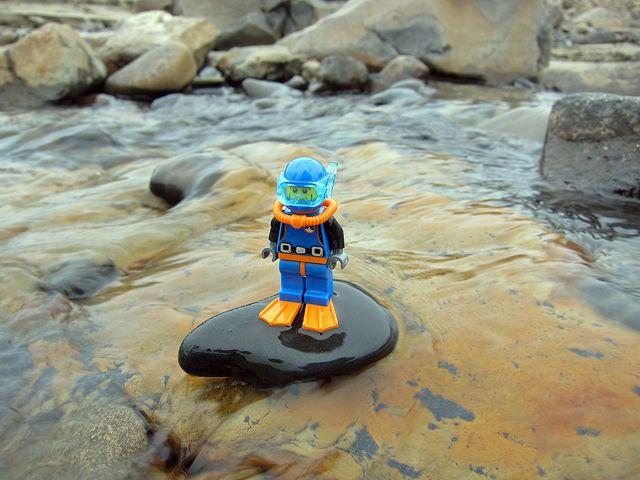 LEGO Collectible Minifigures Series 1 : Deep Sea Diver