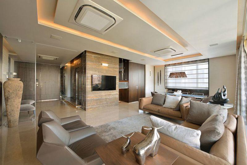 Luxury Living A Duplex Apartment in Mumbai, India