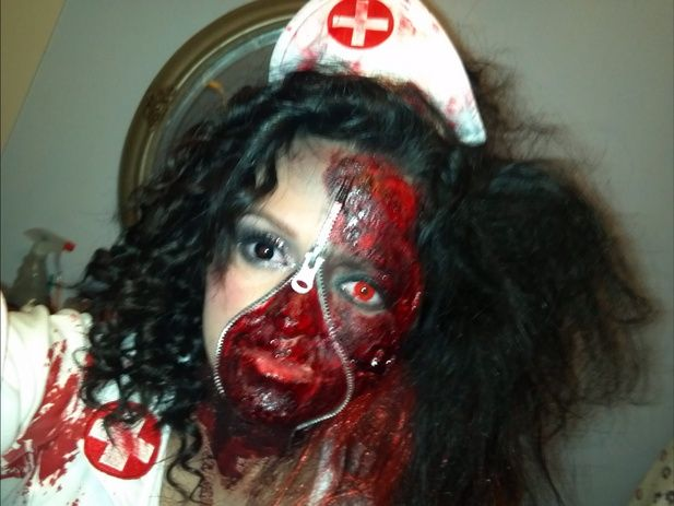insane asylum costume ideas - Google Search | Haunted House 2016 ...