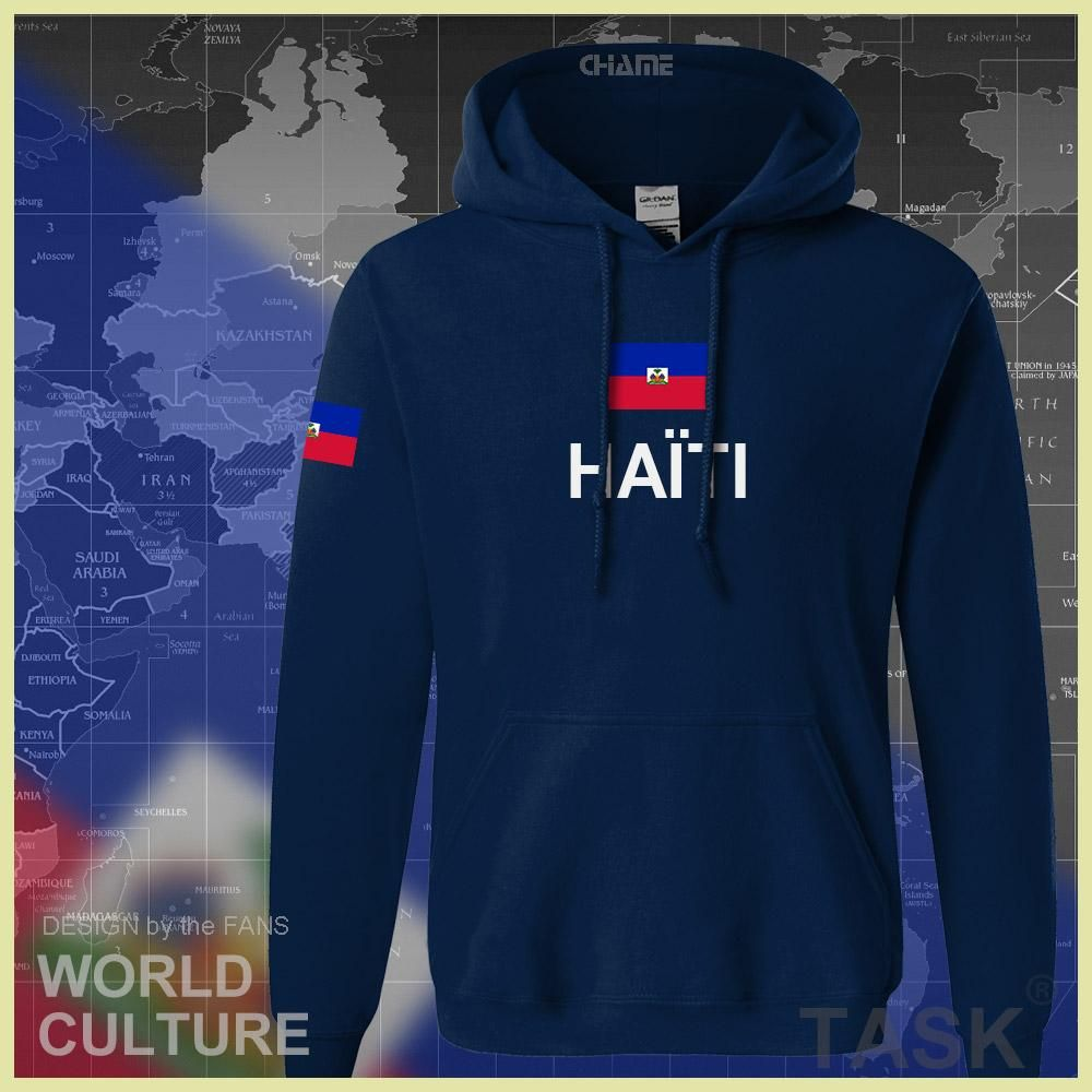 Haiti Haitian hoodies men sweatshirt polo sweat new hip hop streetwear flag  nation team country tracksuit nation Hayti Ayiti 4ec9953283