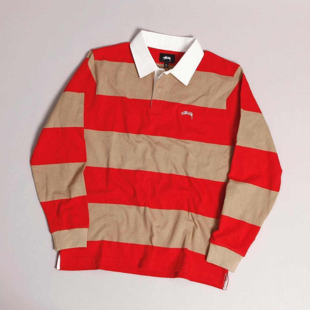 Predownload: Stussy Ralphie Stripe Ls Rugby Polo Khaki Www Popname Cz Stussy Nike Sb Skateboard [ 1080 x 1080 Pixel ]
