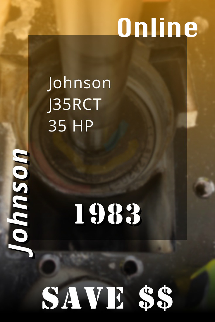 1983 J35rct Johnson 35hp Outboard Motor Service Manual Repair Manuals Outboard Repair And Maintenance