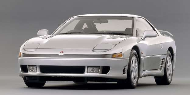 Mitsubishi 3000gt The 3000gt Was One Of The Most Interesting Technologically Advanced Performance Cars Of The 1990s Mitsubishi Mitsubishi 3000 Old Sports Cars