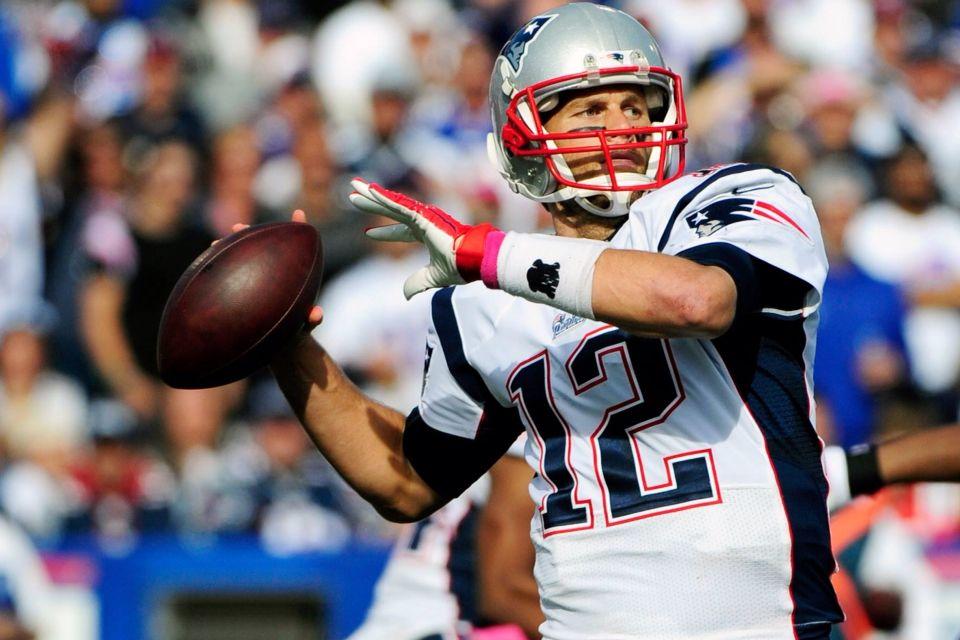 Brady has a 232 record against Bills w/ a 6 game winning