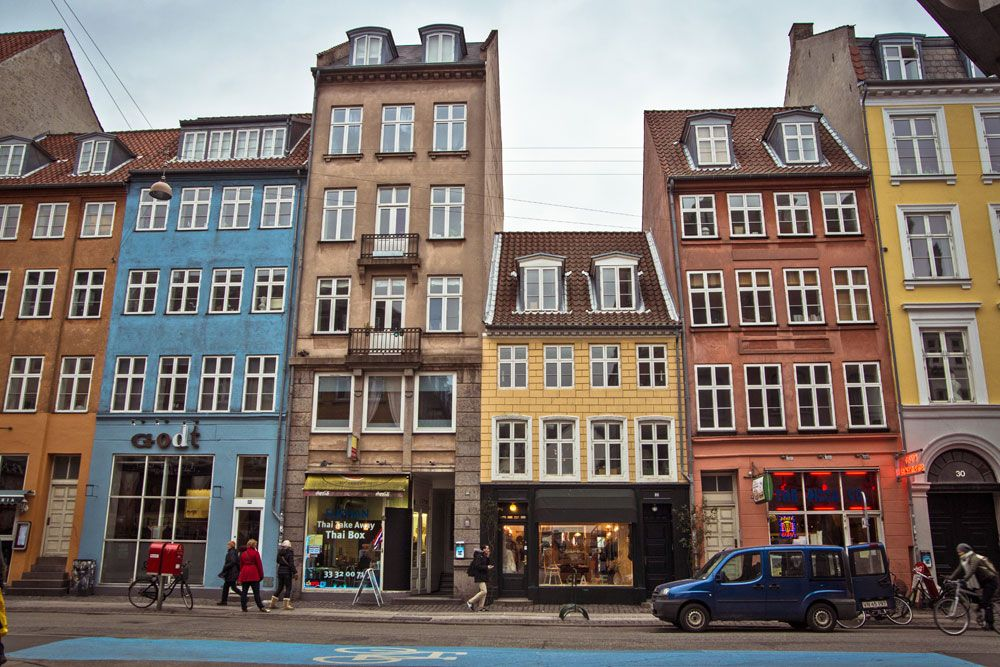 See some of the unique and classic architectural old buildings in Copenhagen.