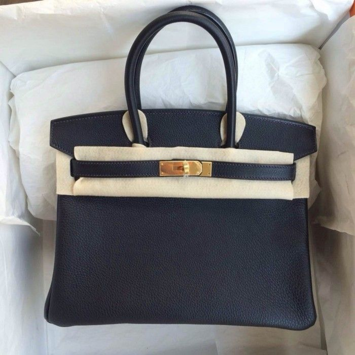 fedbfca5c6 Hermès Birkin 30 Black Togo GHW