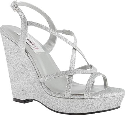 Dyeables Women's Shoes in Silver Glitter color. #shoes #fashion #style  #footwear