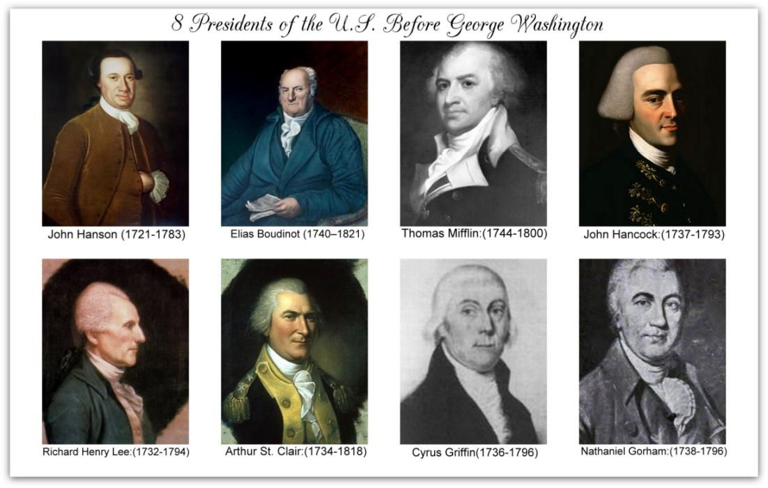 Who Was The First President Of United States All Us Say George Washington But Its Wrong At Least Technically Not Inaugurated