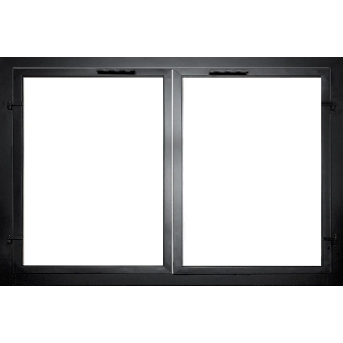 glass door for fireplace. The Georgian Masonry Fireplace Door Glass For