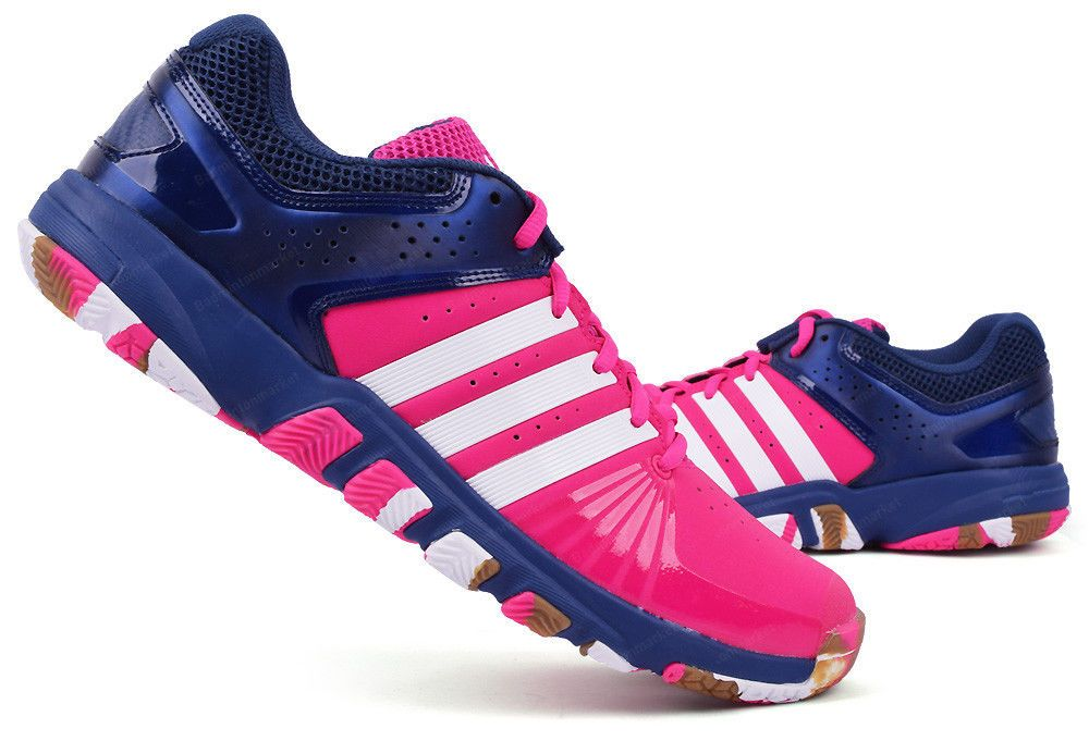 b79f6261f adidas Quick Force 5.1 Unisex Badminton Shoes Indoor Sport Racquet Pink  CP9546 #adidas