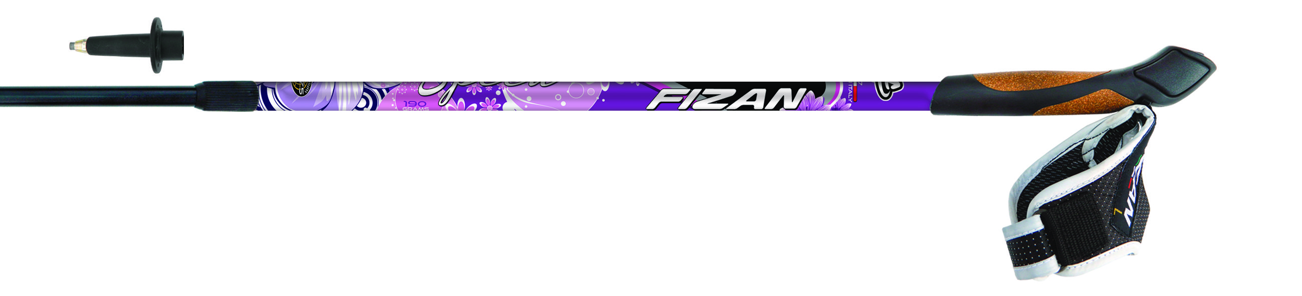 Do you like our Fizan - Speed Lady #pole? Anti vibrations junction, dual density cork rubber grip and Fast Release system. Only 190 grams! Enjoy your #nordicwalking  www.fizan.it