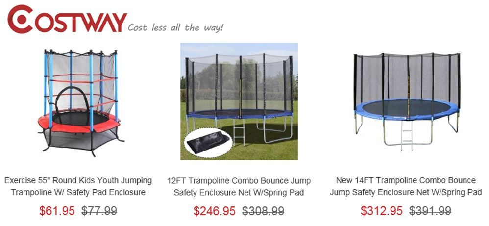 Bounce Pro Trampoline Review – 2 Sources compared with 3 comparable alternatives