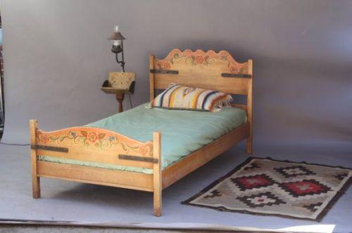 1930s-Coronado-Monterey-Rancho-California-Twin-Bed-Frame-Hand