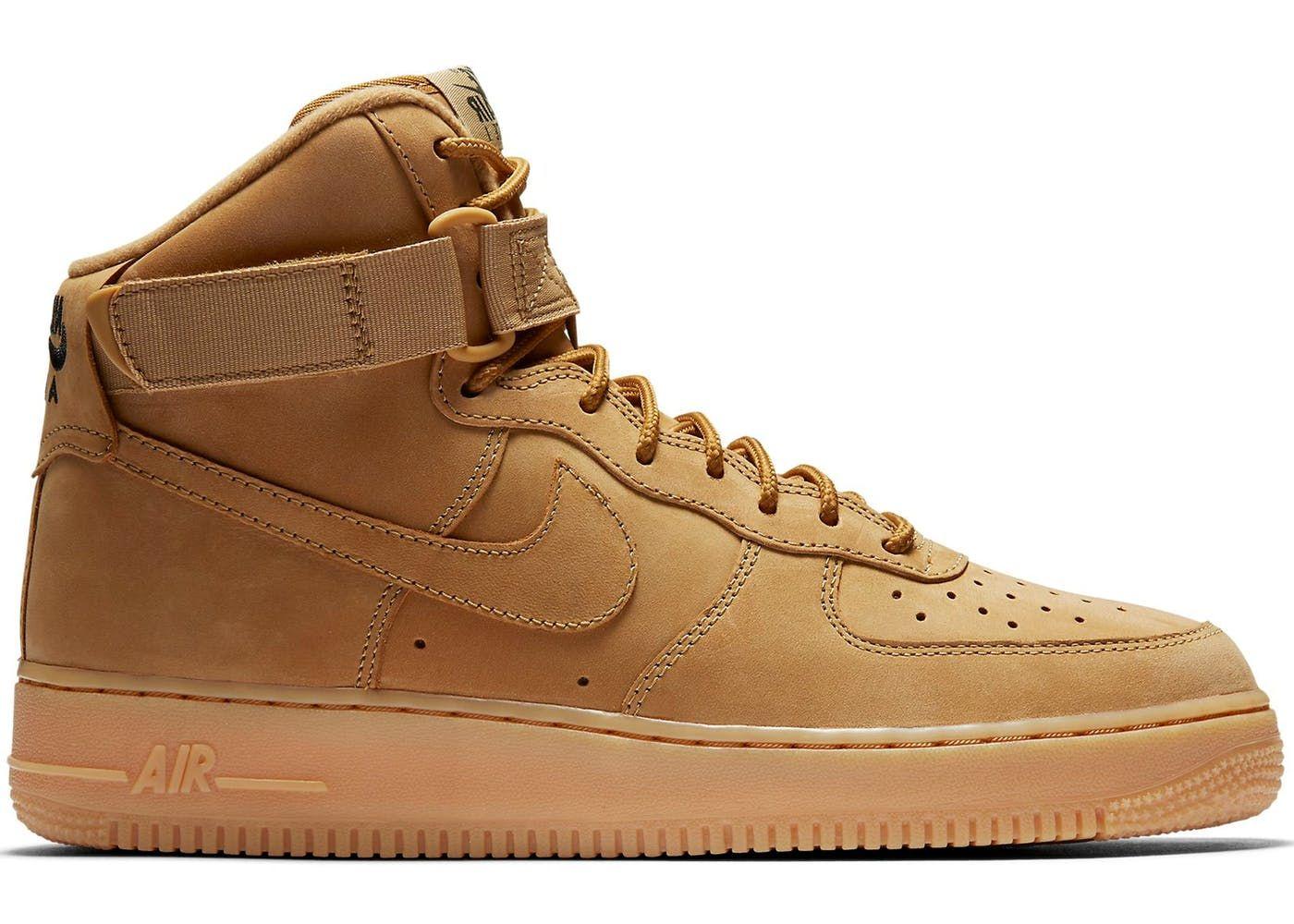 Nike Air Force 1 High Flax (2017