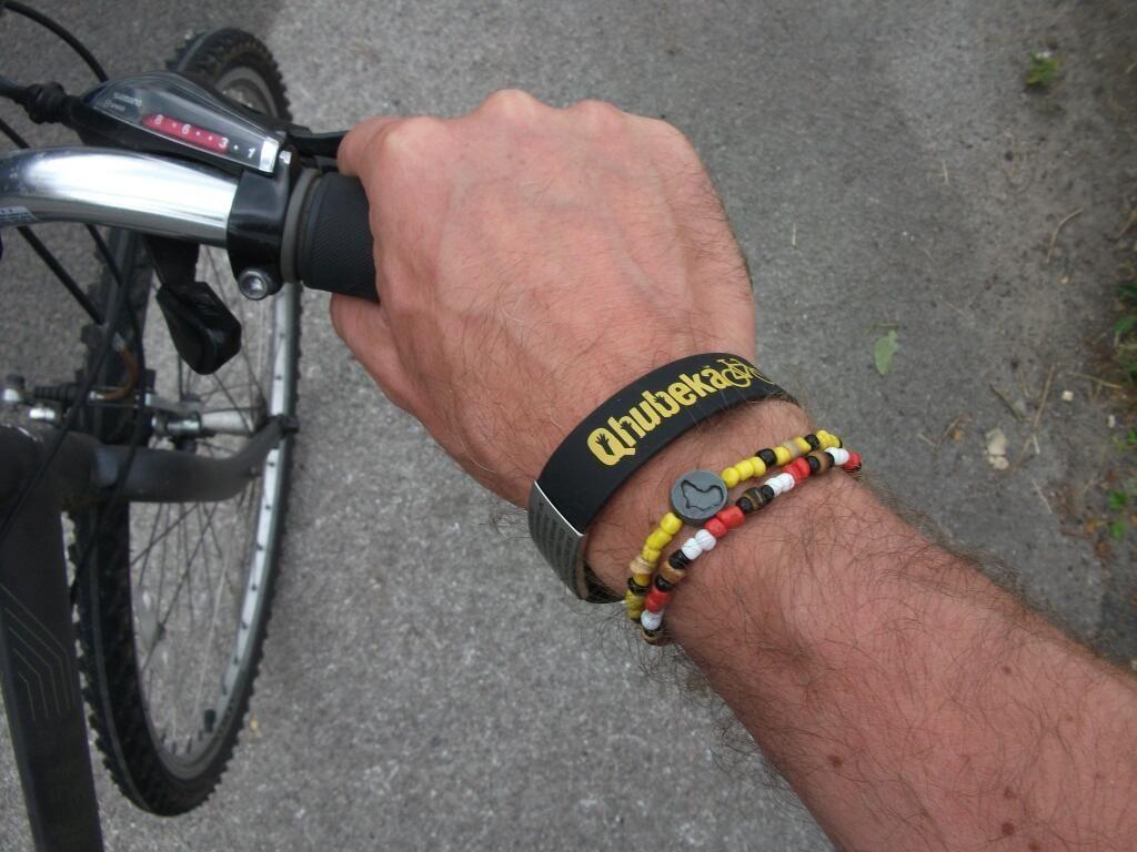 Qhubeka S Ice In Case Of Emergency Id Bracelet And Beadcoalition Cycle Force Www