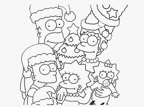 The Simpsons Christmas Coloring Pages Google Search Christmas Coloring Books Christmas Coloring Pages Coloring Pages