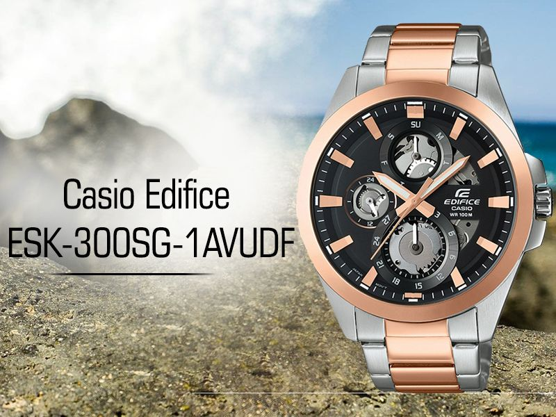 643d4c49e Casio Edifice ESK-300SG-1AVUDF AT THE PRIME WATCHES LUXURY WATCH BOUTIQUE. Shop  Casio watches online in India ...