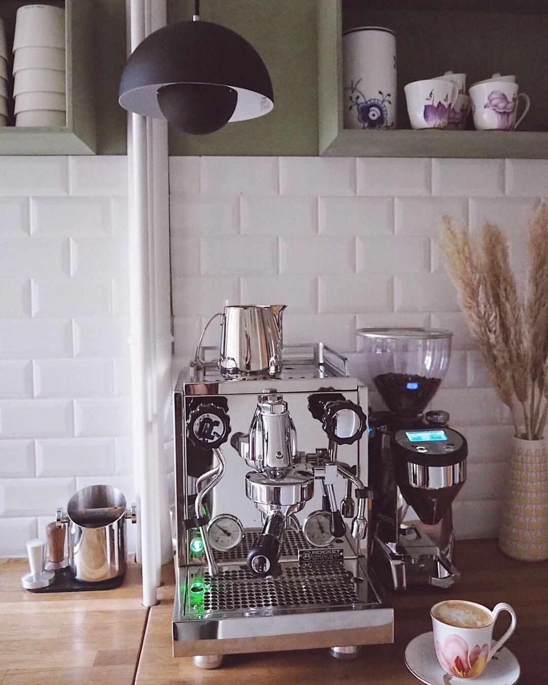 Rocket Espresso at home with @inbloom.dk #rocketgiotto #macinatorefausto #rocket...-#kitchendesign #macinatorefausto #rocketathome #rocketgiotto #espressoathome Rocket Espresso at home with @inbloom.dk #rocketgiotto #macinatorefausto #rocket...-#kitchendesign #macinatorefausto #rocketathome #rocketgiotto #espressoathome