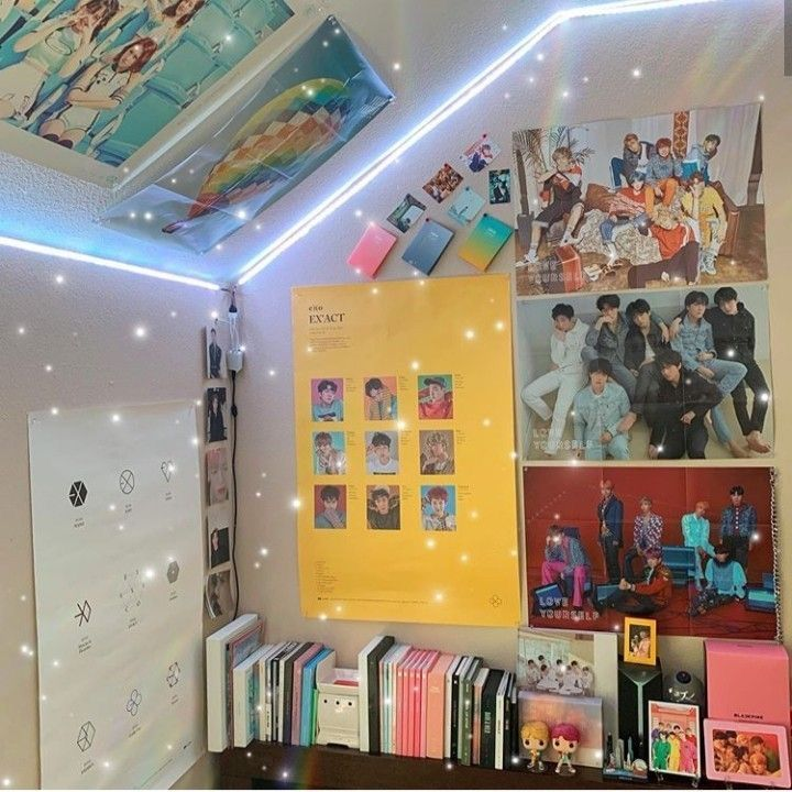 Bts Room Decor Concepts For Military Cr To Unique Proprietor With Images Army Room Decor Aesthetic Room Decor Otaku Room