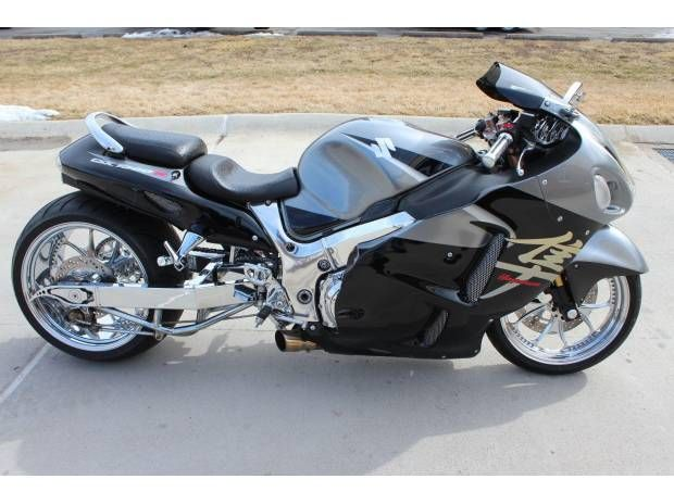 Custom 2005 Hayabusa 300 Wide Tire Chrome Sports Bikes Motorcycles Super Bikes Custom Sport Bikes