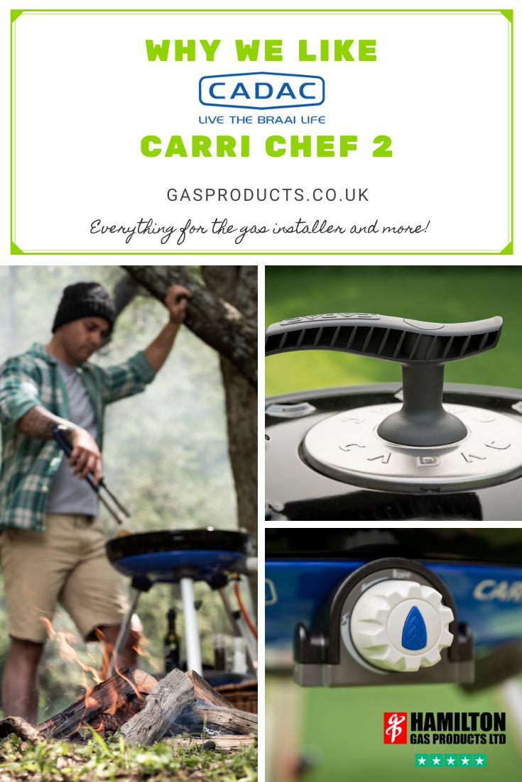 Cadac Safari Chef 2 BBQ Cover Caravan BBQ Accessories