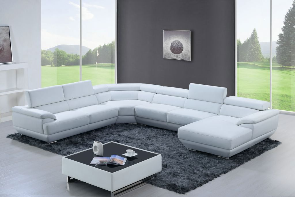 Luxury Full Leather Corner Couch Leather Sectional Sofas