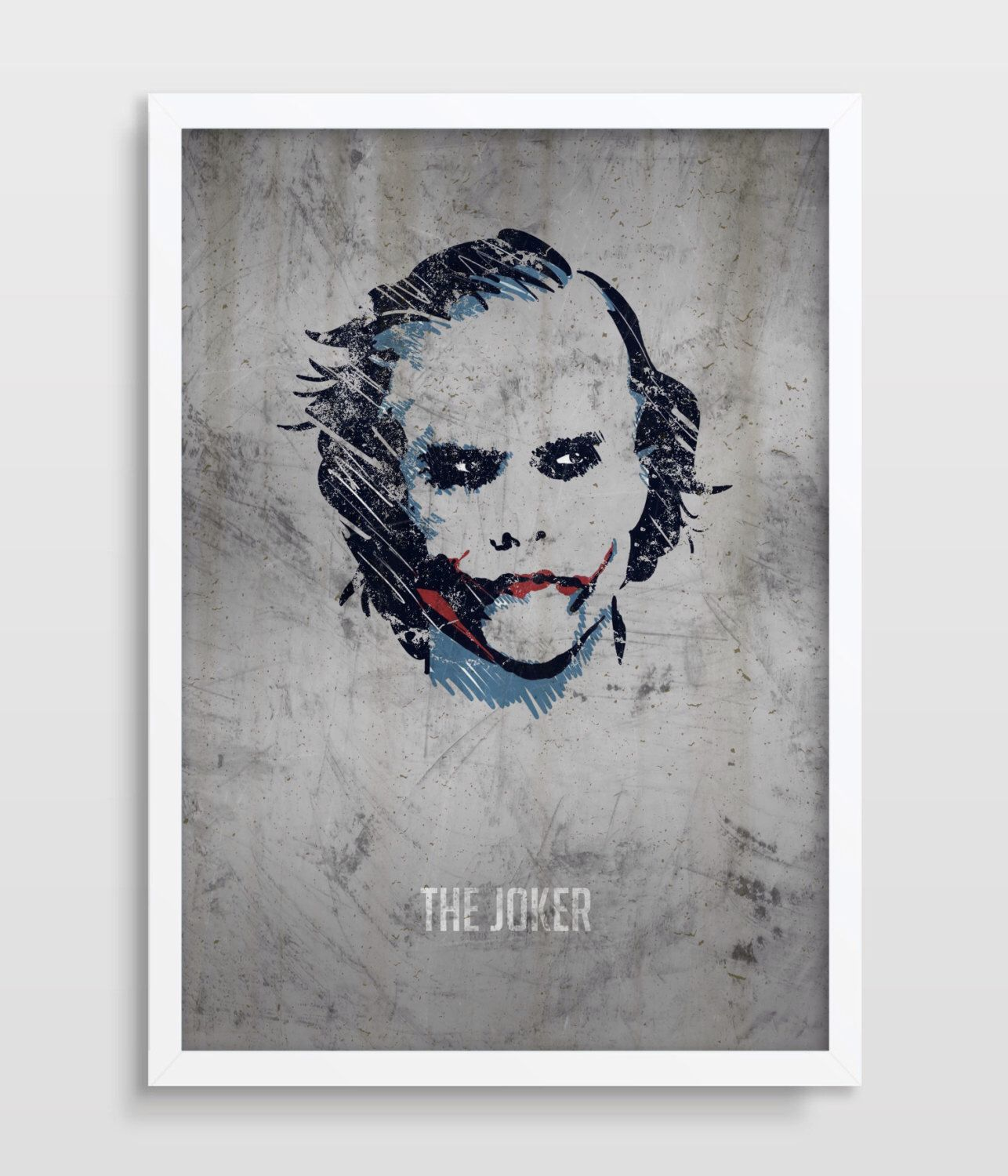 The Joker Poster, Superheroes, Dc Comics, Superhero Wall Art, Dark