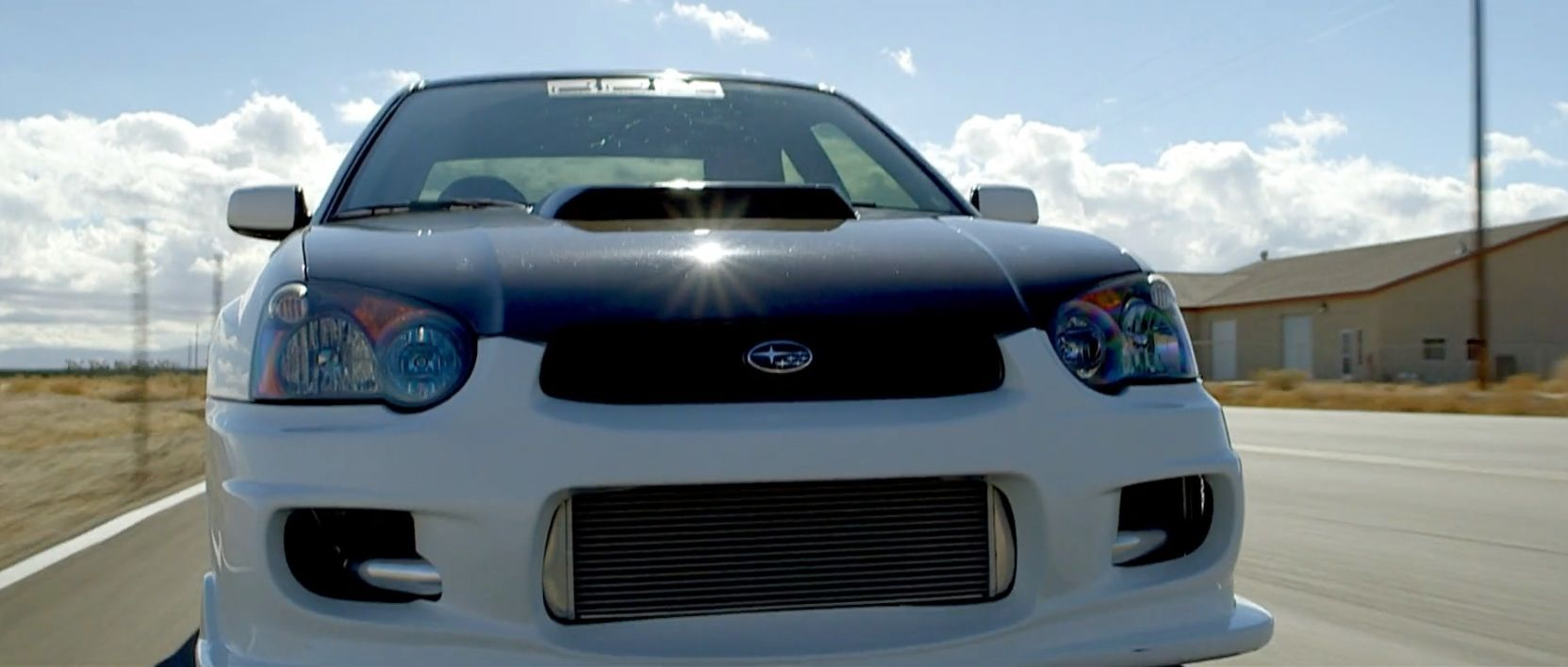 Subaru Impreza Wrx Sti Car In Born To Race Fast Track