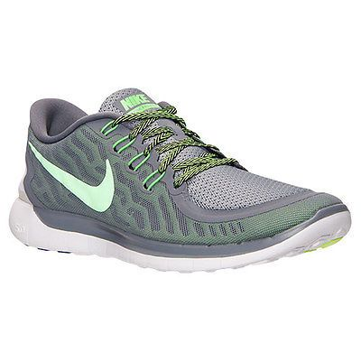 finest selection 8e9cd 9a434 ... usa nike free 5.0 mens 724382 013 grey green running shoes athletic  sneakers sz 12 3110e