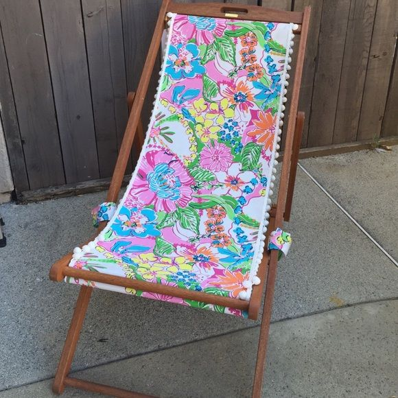 Lilly Pulitzer Nosie Posey Beach Chair u0026 Pillow NWT Lilly Pulitzer Nosie Posey Beach Chair u0026 Pillow Lilly Pulitzer for Target Accessories : pillow chair target - Cheerinfomania.Com