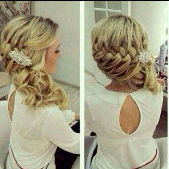 Trenza De Lado Mas Elaborada Para Fiesta Hairstyle Peinados