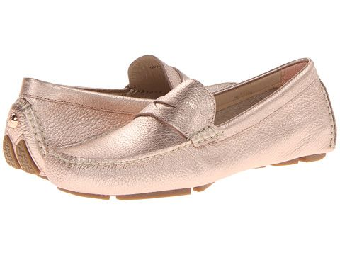 11ed969aa8f Cole Haan Trillby Driver Rose Gold - Zappos.com Free Shipping BOTH Ways  Love these (8.5) This one is the rose gold. I also like the soft gold
