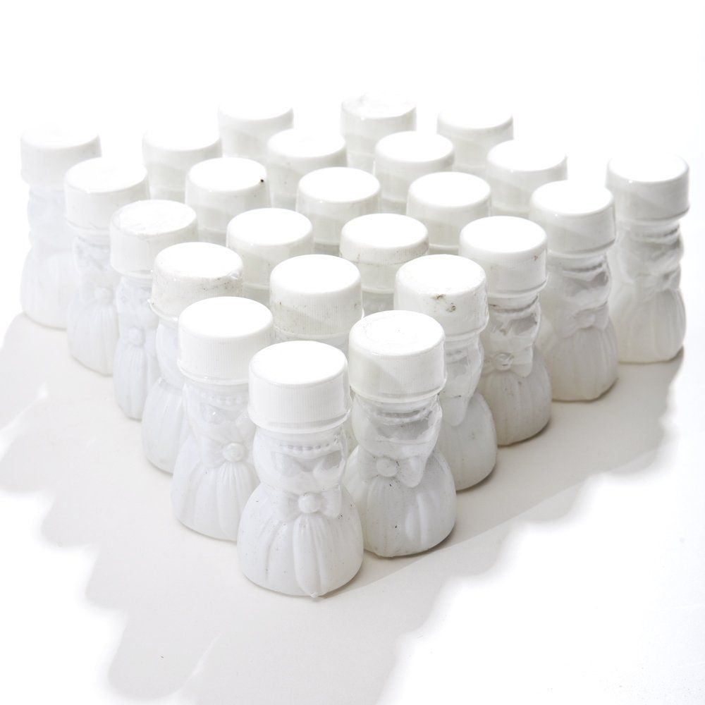 Wedding Gown Bubble Bottles, pack of 24. 2 1/2\