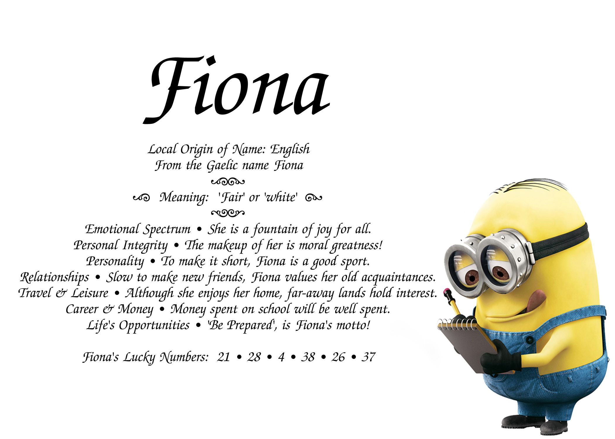 Lost cause !! Minions for you      Personalized Name