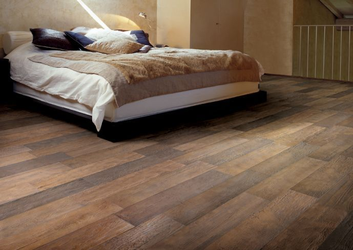 Wood Grain Tile Flooring Like The Color Variations