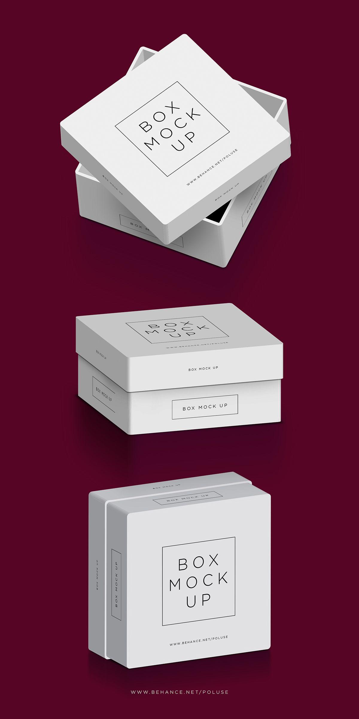 Download Square Box Free Mockup Pinspiry Design Mockup Free Free Packaging Mockup Box Mockup