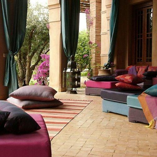 Wohnideen Orientalischer Stil wohnideen wohnzimmer 39 ideen für ein sommerliches flair im winter
