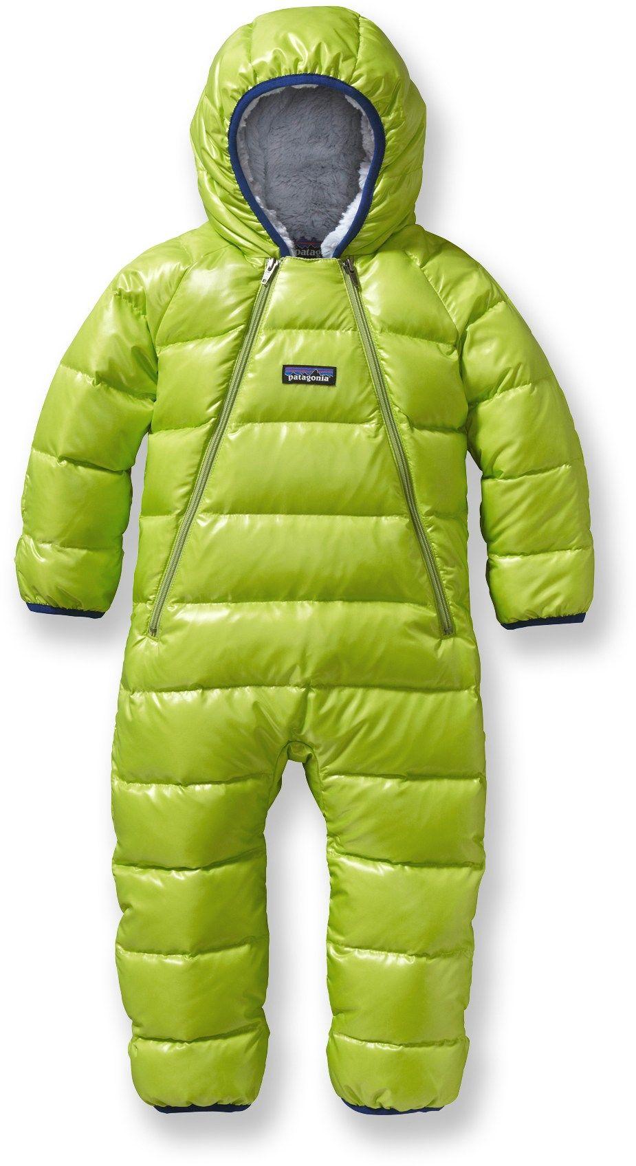 f98b0c537 Patagonia Male Hi-Loft Down Sweater Bunting - Infant Boys ...