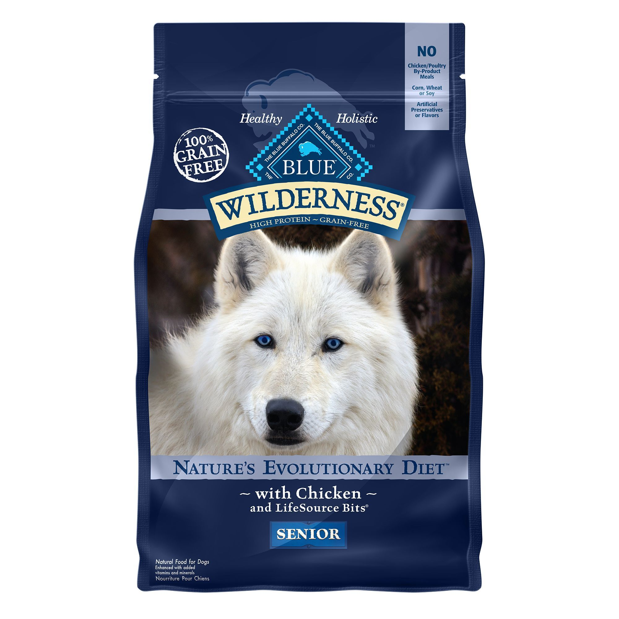 Blue Buffalo Wilderness Senior Dog Food Grain Free Natural