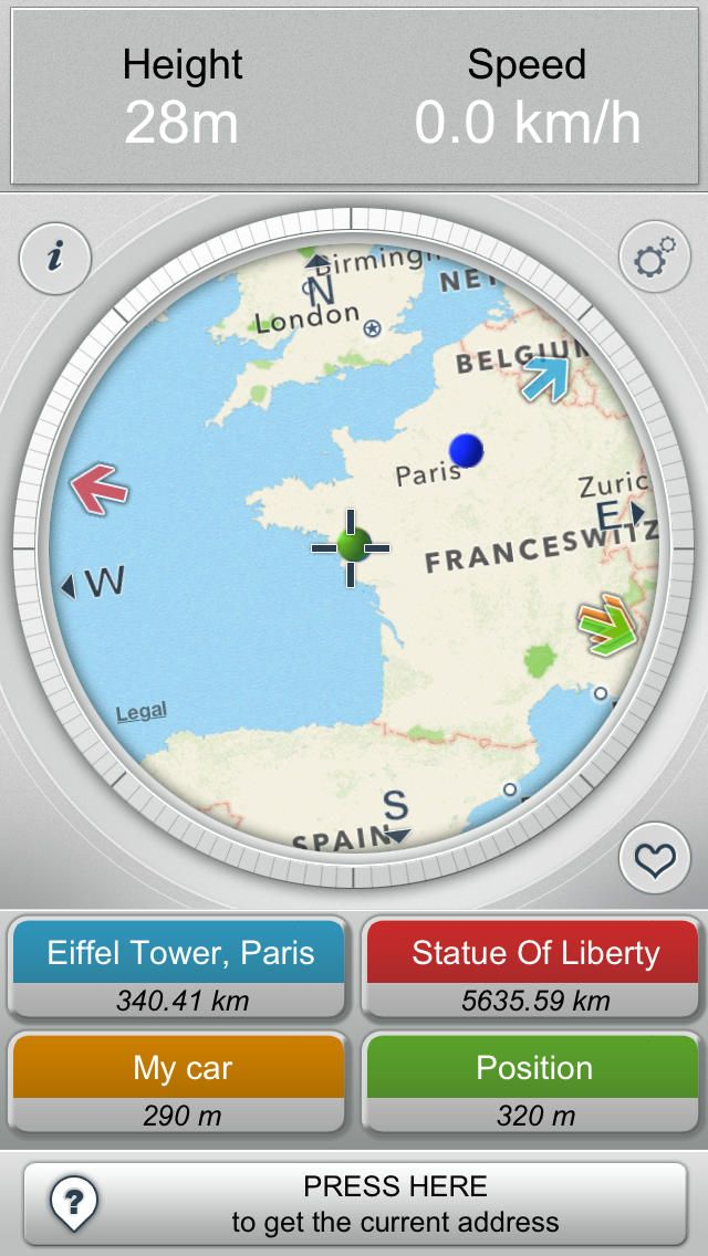 Iphone app direction compass maps in motion navigation travel iphone app direction compass maps in motion navigation travel 4 gumiabroncs Gallery