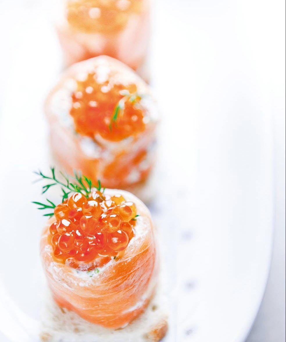Mes bouchées légères au saumon - Laurent Mariotte ...