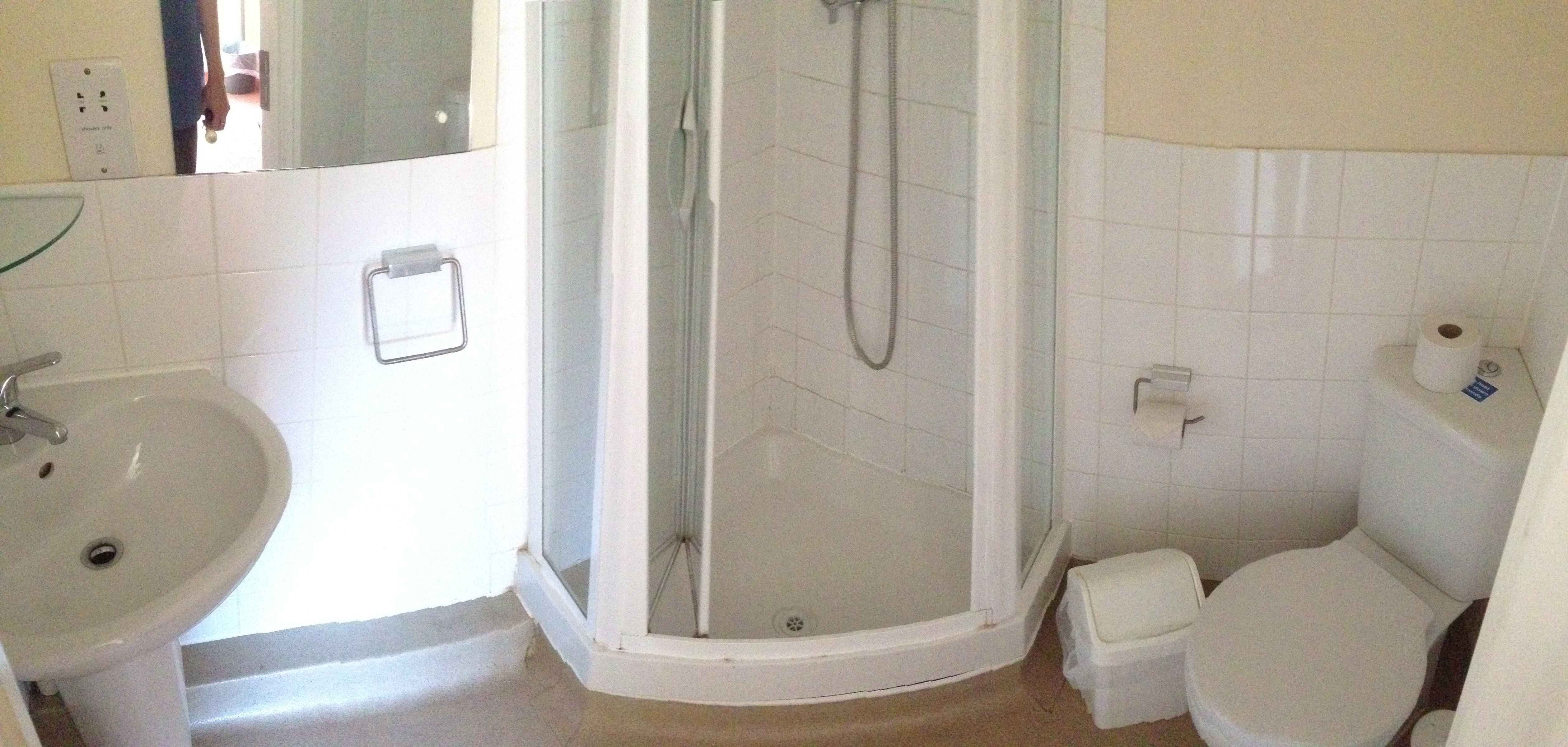 A Typical Ensuite In Lewes Court Phase 2 University