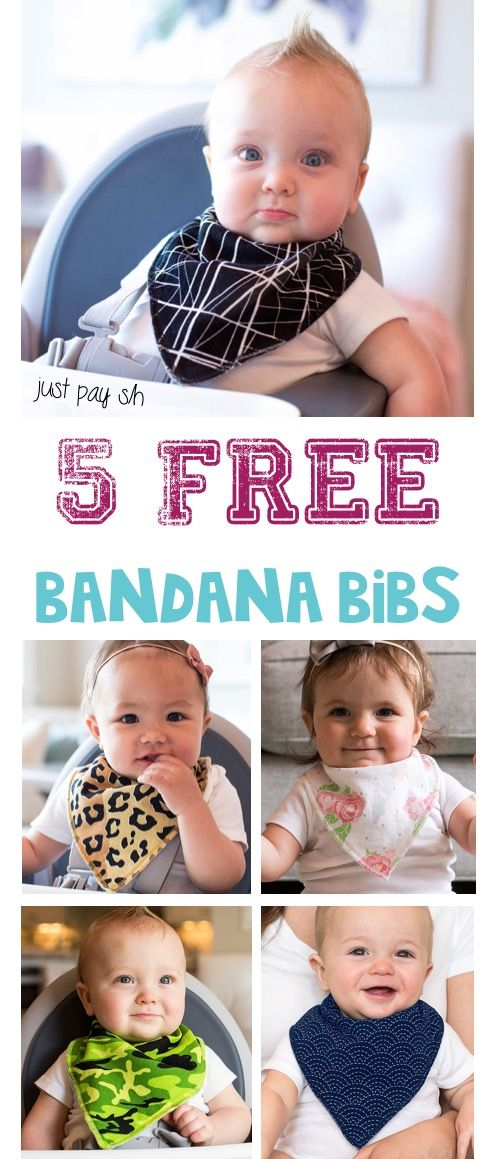 Free Baby Stuff Pick Your Favorite Banana Bib Pattern Or Mix And
